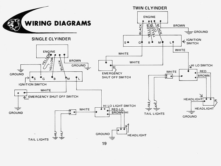 indak rotary switch wiring diagram arctic cat 1974 panther electric start