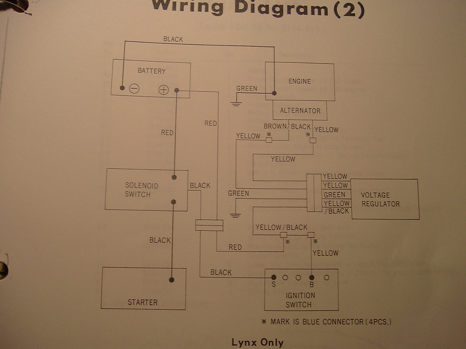 Arctic Cat Lynx Wiring Diagram Anything Diagrams 2000 700 Rh Vintagesnow Com 300 1999