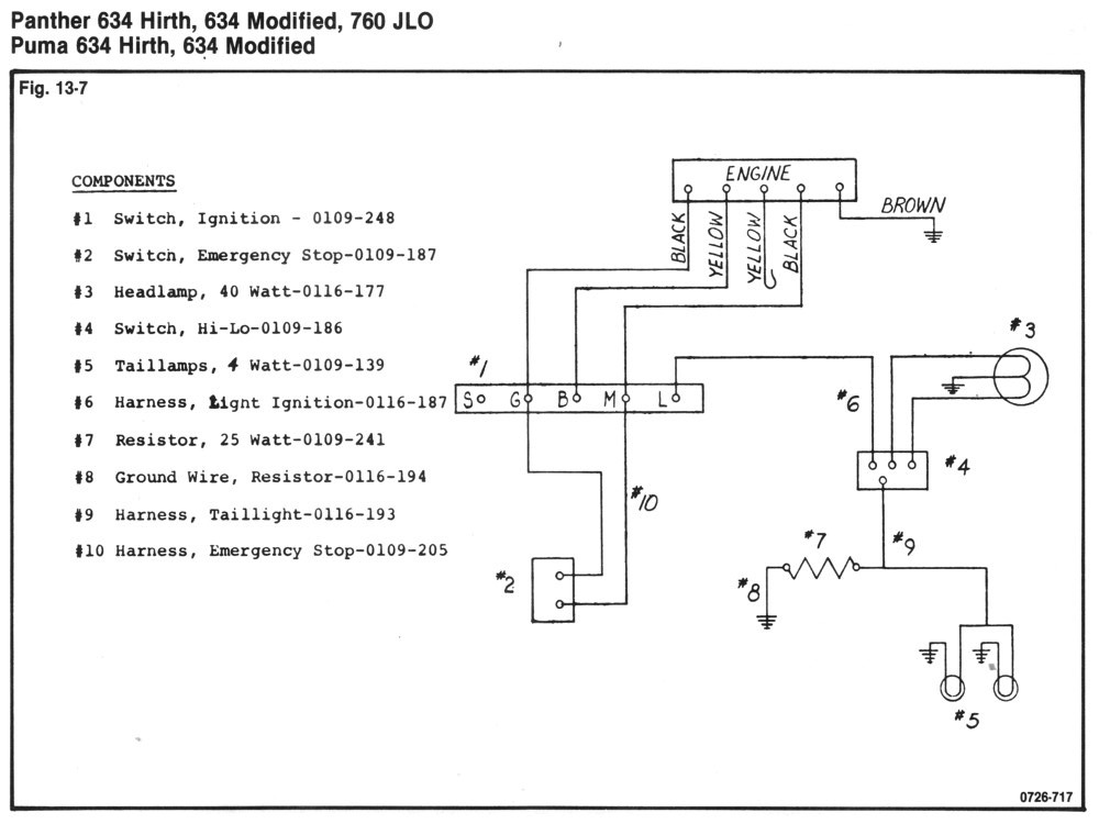 71PumaPanther634760 arctic cat Kohler Wiring Diagram Manual at soozxer.org