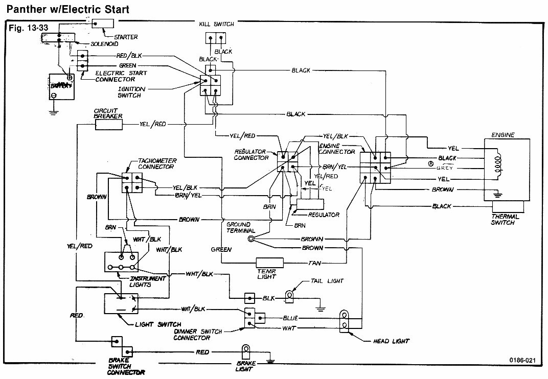 74PantherElectric arctic cat 1973 arctic cat cheetah 440 wiring diagram at n-0.co