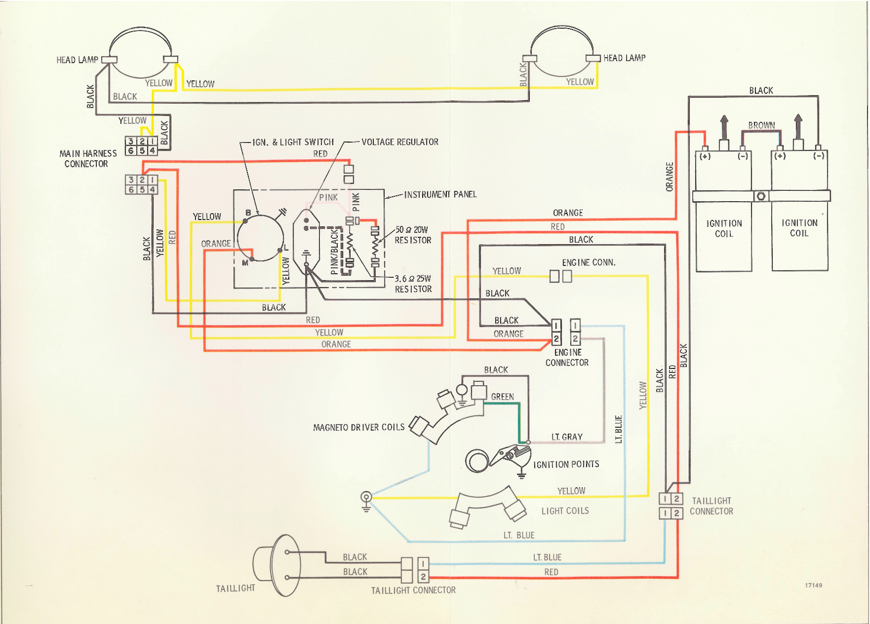 1971_Bobcat evinrude bobcat 743 starter wiring diagram at panicattacktreatment.co