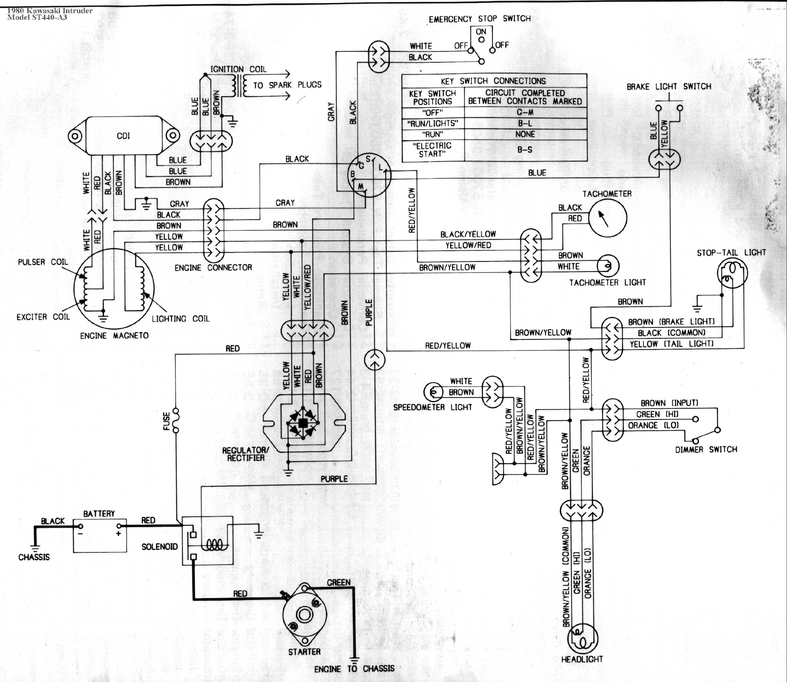 Ke100 Wiring Diagram 1989 Vehicle Diagrams Kawasaki 1980 G5 Kz1000 Ltd At Eklablog