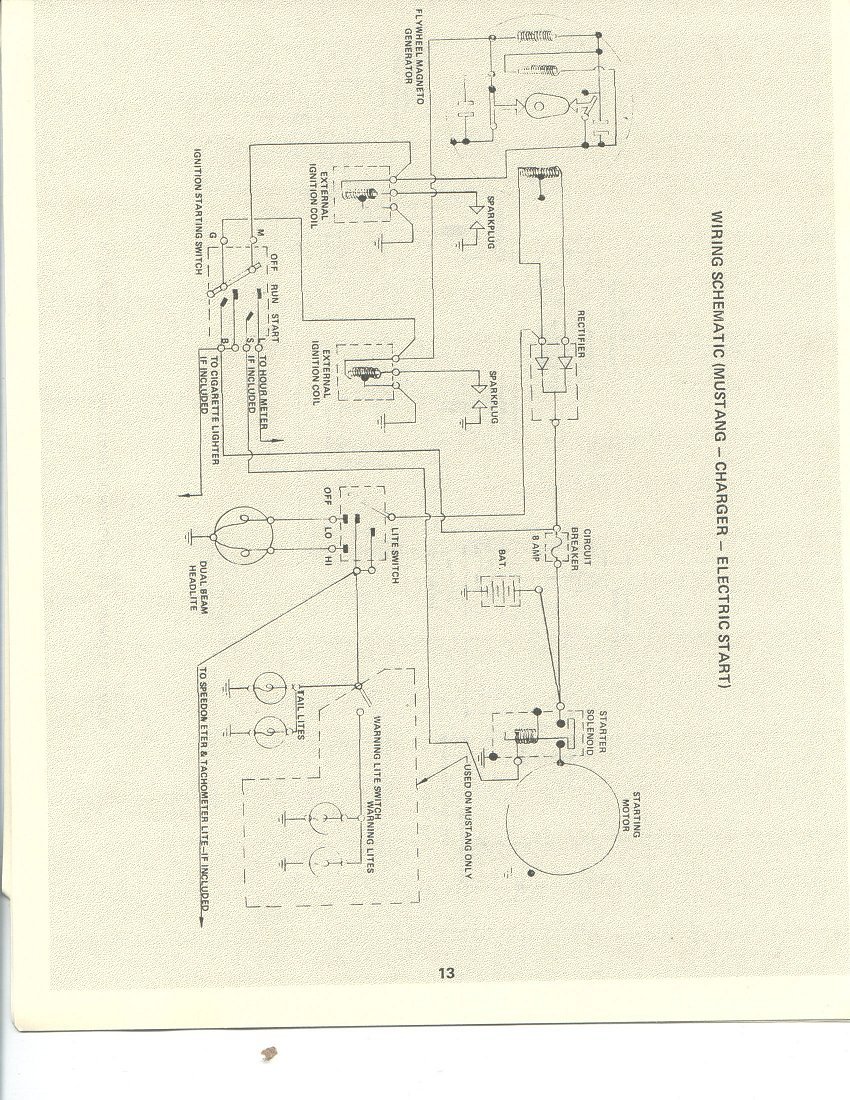 Polaris 1973 Mustang Ignition Switch Wiring Diagram 1971 Thanks To Mustang71