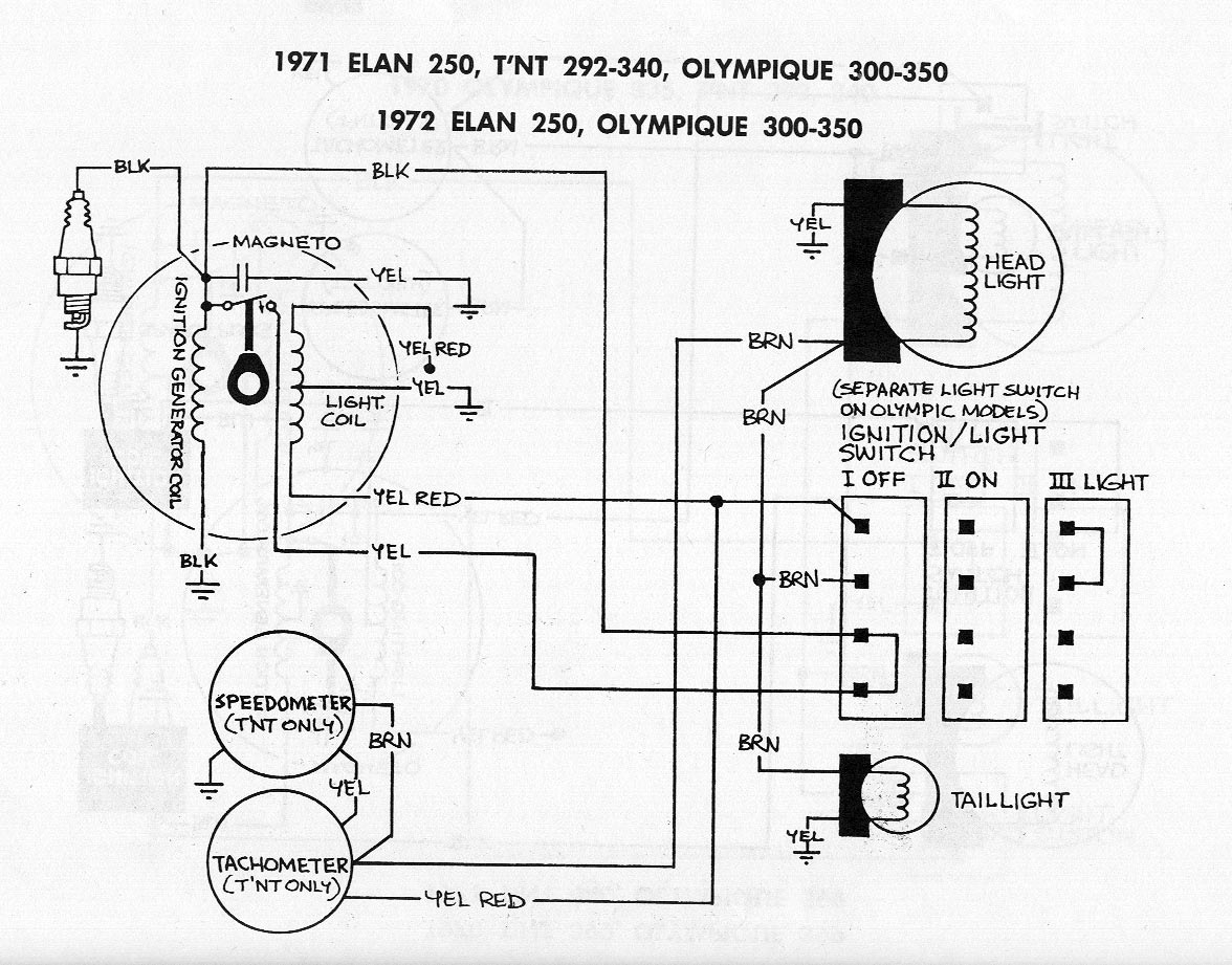 Ski Doo 1992 Honda Fourtrax 300 Wiring Diagram 1972 Olympique 350