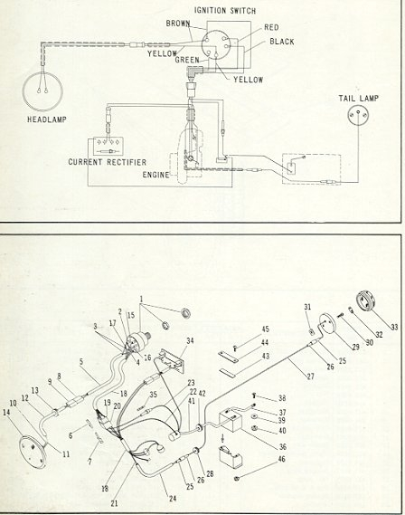 67 Olympique Electric ski doo 1990 ski-doo safari wiring diagram at bakdesigns.co