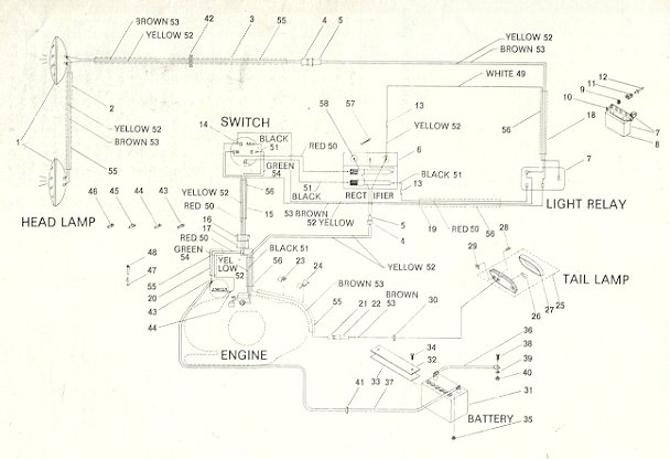 ski doo 503 wiring diagram