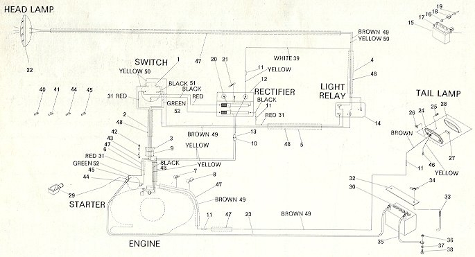 68 Olympique Rotax 370 Electric diagrams ski doo wiring diagrams how to read a skidoo wiring  at eliteediting.co