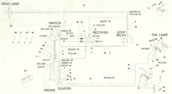 Super Olympique E Rotax on 1968 Mustang Wiring Diagram