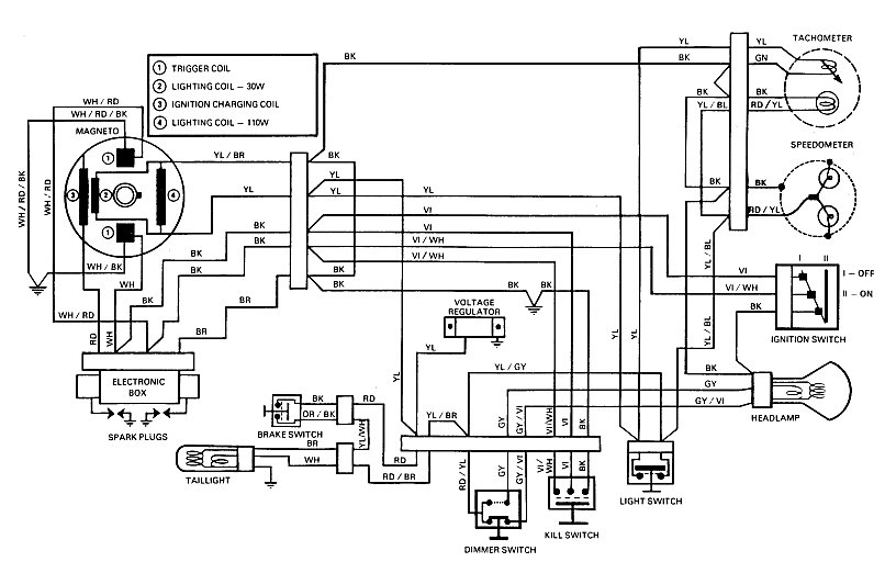 75_eve440wiring diagrams ski doo wiring diagrams how to read a skidoo wiring 1991 Ski-Doo Mach 1 Parts at beritabola.co