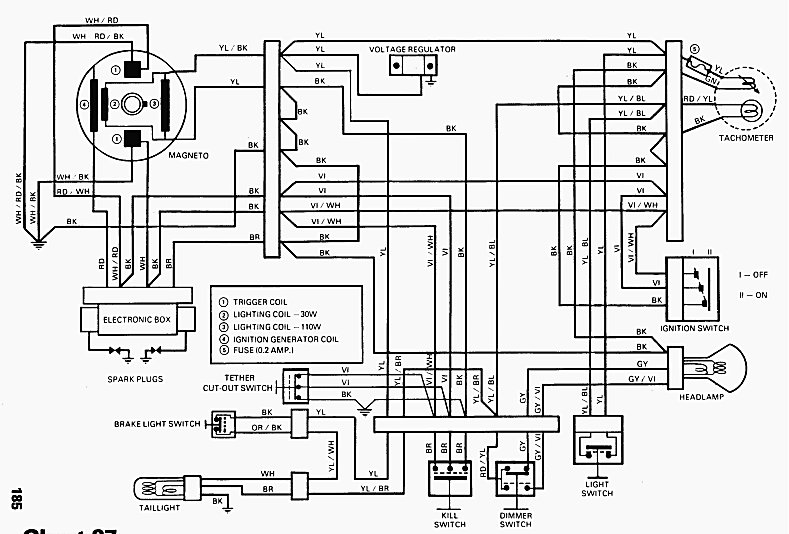 1998 ski doo 670 wiring diagram wiring wiring diagrams instructions rh w justdesktopwallpapers com 2018 Ski-Doo Summit 1998 ski doo grand touring 700 wiring diagram