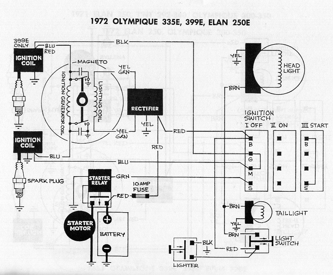 elan snowmobile wiring diagram snowmobile free printable wiring diagrams