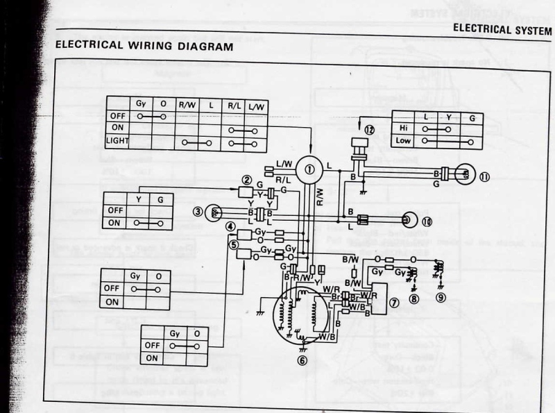 1974 yamaha gpx 433f yamaha Yamaha Wiring Schematic at bayanpartner.co